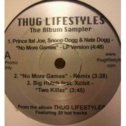"Various - Thug Lifestyles - The Album Sampler, 12"", Promo, Sampler"