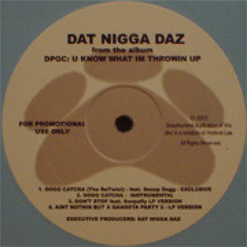 "Daz Dillinger - Dogg Catcha (The Re-Twist), 12"""