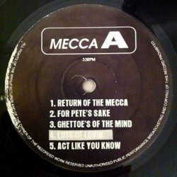 Pete Rock & C.L. Smooth - Mecca And The Soul Brother (Instrumentals), 2xLP, Reissue