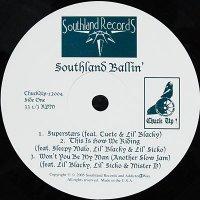 """Various - Southland Ballin', 12"""", EP"""