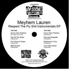 "Meyhem Lauren - Respect The Fly Shit Instrumentals EP, EP, 12"""