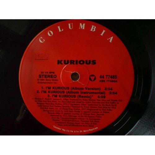 """Kurious - I'm Kurious / Mansion And A Yacht , 12"""", Repress"""