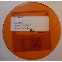 """Marquis - Rock The Beat / Feel The Vibe, 12"""", Promo"""