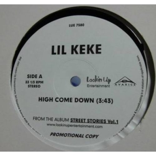 "Lil' Keke - Street Stories Vol.1, 12"", Promo"