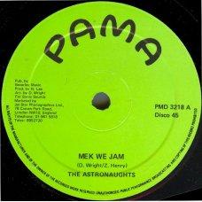 "The Astronaughts - Mek We Jam, 10"""