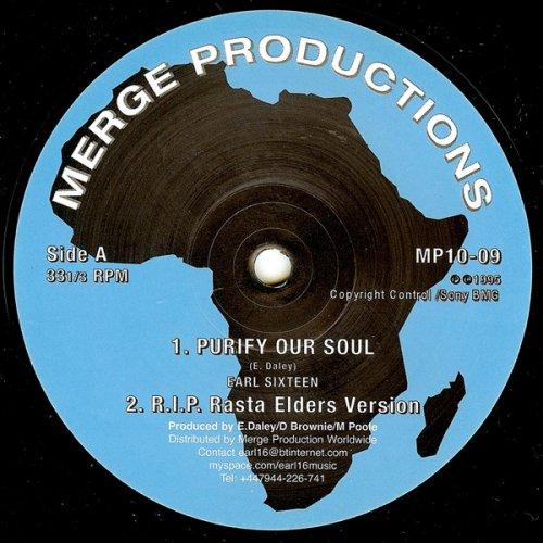 """Earl Sixteen - Purify Our Soul / Concrete Castle, 10"""""""