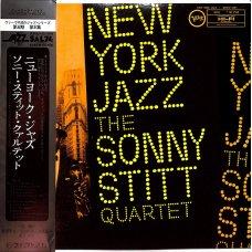 Sonny Stitt Quartet - New York Jazz, LP, Reissue, Mono