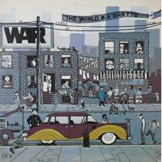 War - The World Is A Ghetto, LP