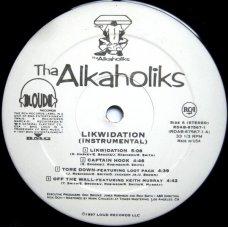 Tha Alkaholiks - Likwidation (Instrumental), 2xLP, Promo