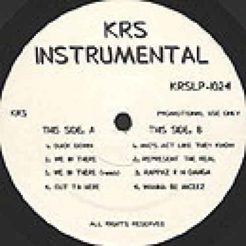 KRS-One - KRS-One Instrumental LP, 2xLP