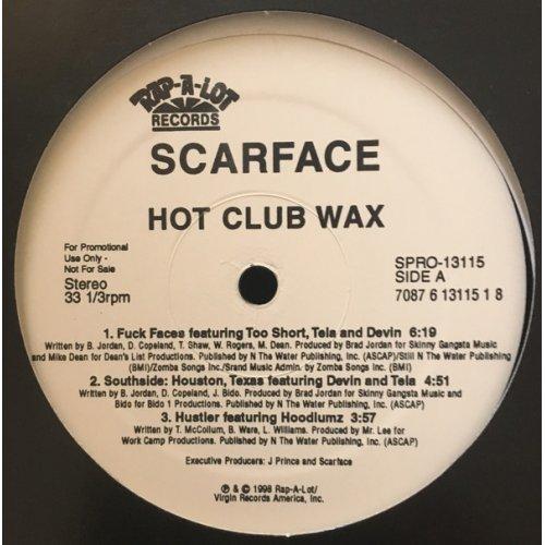 "Scarface - Hot Club Wax, 12"", Promo"