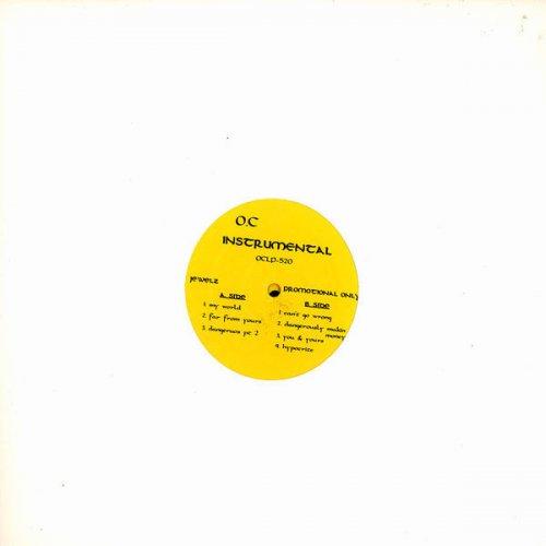 O.C. - Jewelz (Instrumental), 2xLP, Promo