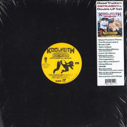 Kool Keith Featuring Kut Masta Kurt - Diesel Truckers (Instrumentals), 2xLP
