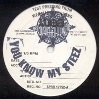 """Gang Starr - You Know My Steez, 12"""", Test Pressing"""