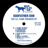 """Godfather Don - The Ill Funk Freaker EP, 12"""", EP"""