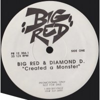 """Big Red & Diamond D - Created A Monster, 12"""", Promo"""