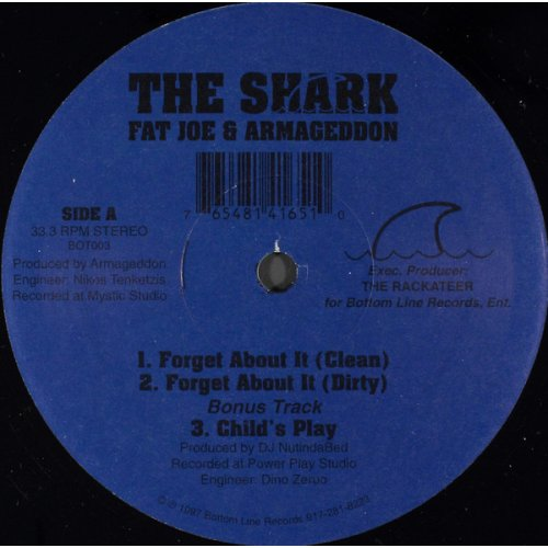 """The Shark, Fat Joe & Armageddon - Forget About It, 12"""""""