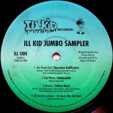 """Various - Ill Kid Jumbo Sampler, 12"""", Sampler"""