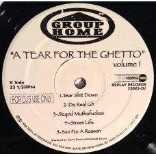 Group Home - A Tear For The Ghetto, 2xLP, Promo