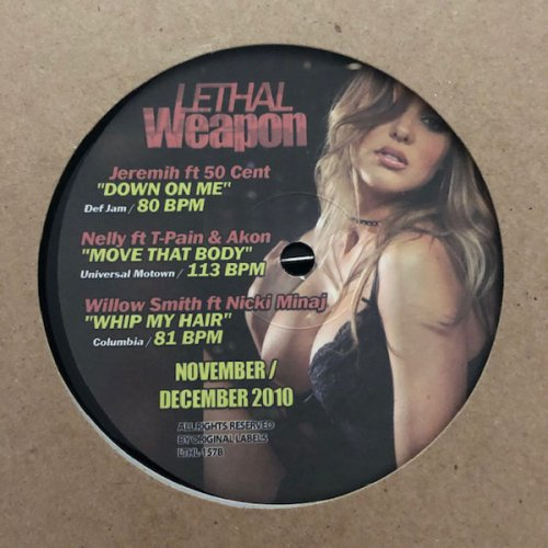 "Various - Lethal Weapon November / December 2010, 12"""