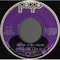 """Fred Wesley & The J.B.'s - Doing It To Death, 7"""""""