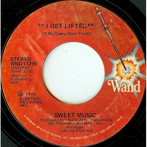 """Sweet Music - I Get Lifted, 7"""""""