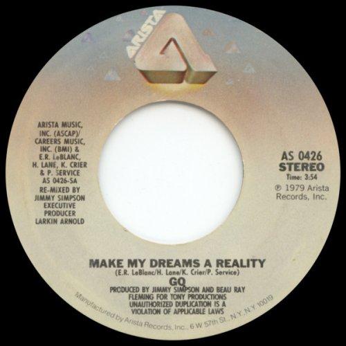 "GQ - Make My Dreams A Reality / I Do Love You, 7"""