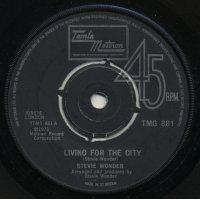 """Stevie Wonder - Living For The City, 7"""""""