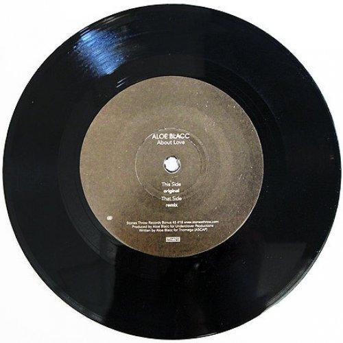 "Aloe Blacc - About Love, 7"", Promo"
