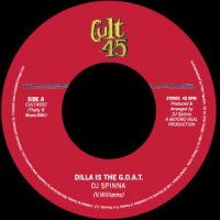 """DJ Spinna - Dilla Is The G.O.A.T. / When Planets Collide, 7"""""""