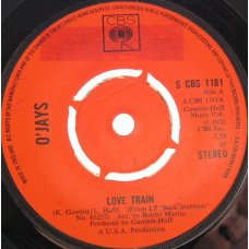 "O'Jays - Love Train, 7"""