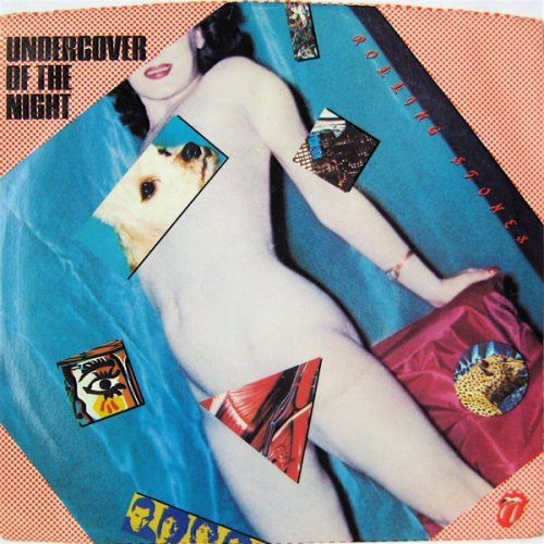 """Rolling Stones - Undercover Of The Night, 7"""""""