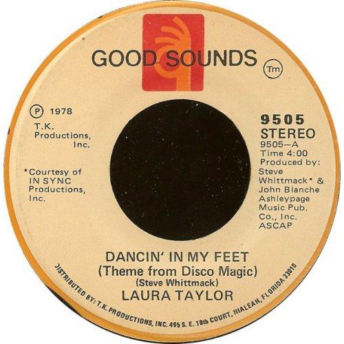 "Laura Taylor - Dancin' In My Feet (Theme From Disco Magic) / Lady Scorpio, 7"""