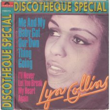 """Lyn Collins - Me And My Baby Got Our Own Thing Going, 7"""""""