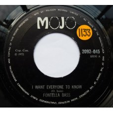 """Fontella Bass - I Want Everyone To Know, 7"""""""