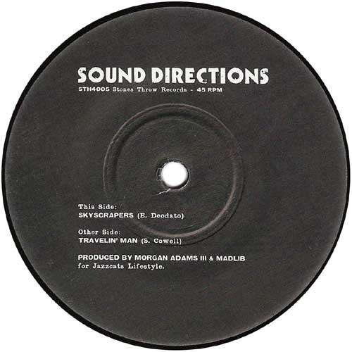 "Sound Directions - Skyscrapers, 7"", Repress"
