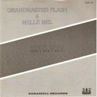 """Grandmaster & Melle Mel - White Lines (Don't Don't Do It), 7"""""""