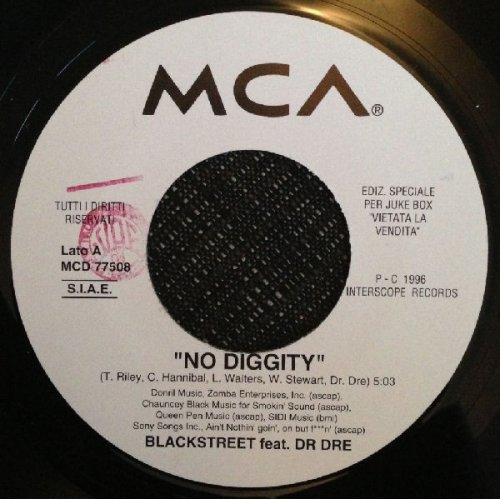 """Blackstreet Feat. Dr. Dre / Warren G Feat. A. Howard - No Diggity / What's Love Got To Do With It, 7"""""""
