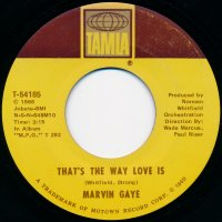 """Marvin Gaye - That's The Way Love Is , 7"""""""