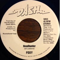 "Foxy - Headhunter, 7"", Promo"