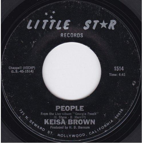 """Keisa Brown - People / T.J., 7"""""""
