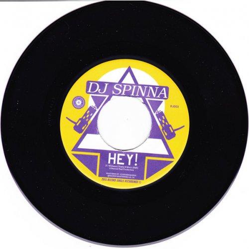 "DJ Spinna / SBBX - Hey! / Double Shift, 7"""