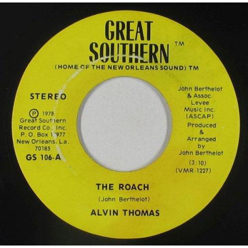 "Alvin Thomas - The Roach, 7"""