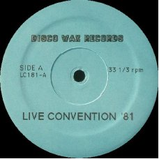 """Various - Live Convention '81, 12"""", Reissue"""