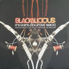 """Blackalicious - It's Going Down (Sit Back), 12"""""""