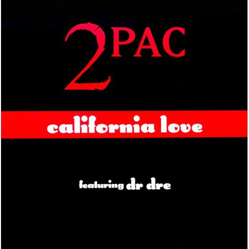 """2Pac - California Love, 12"""""""