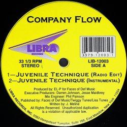 """Company Flow - Juvenile Technique, 12"""""""