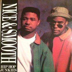"""Nice & Smooth - Hip Hop Junkies, 12"""", Reissue"""