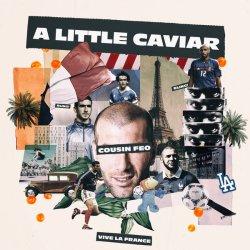 """Cousin Feo x Keor Meteor - A Little Caviar, 12"""", EP"""