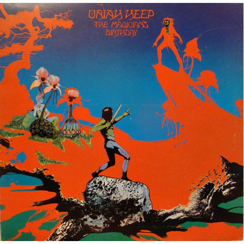 Uriah Heep - The Magician's Birthday, LP